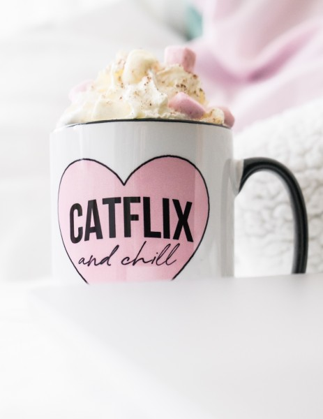 "Tasse ""Catflix & Chill"""