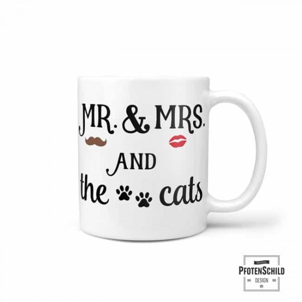 Becher: Mr, Mrs and the cats