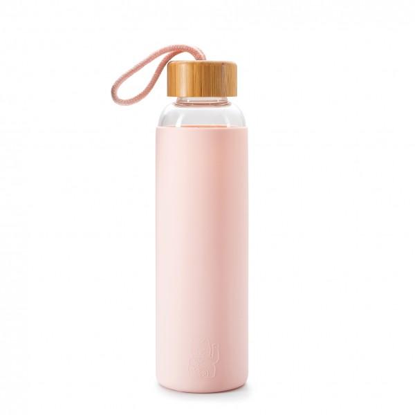 Maneki Neko Trinkflasche - rosa