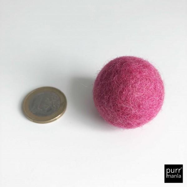 fat felty 3 cm raspberry