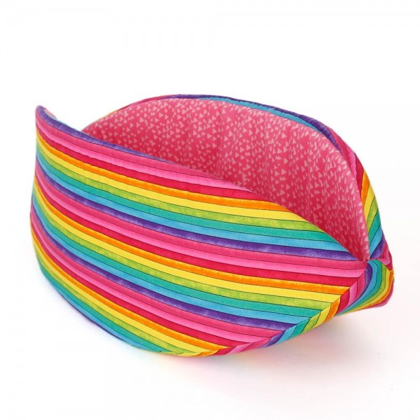 The Cat Canoe Rainbow Stripe