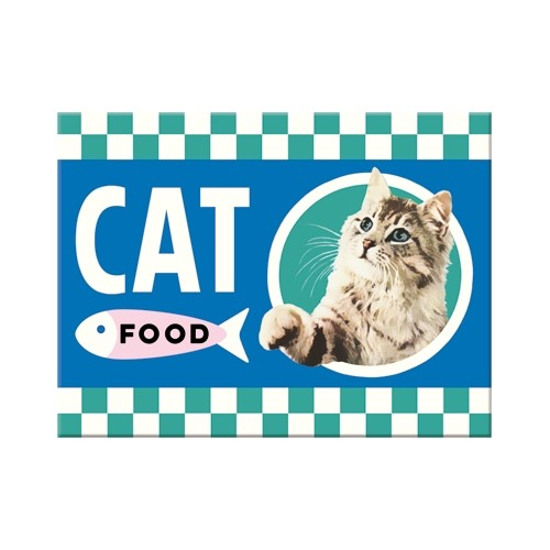 Magnet: Cat Food