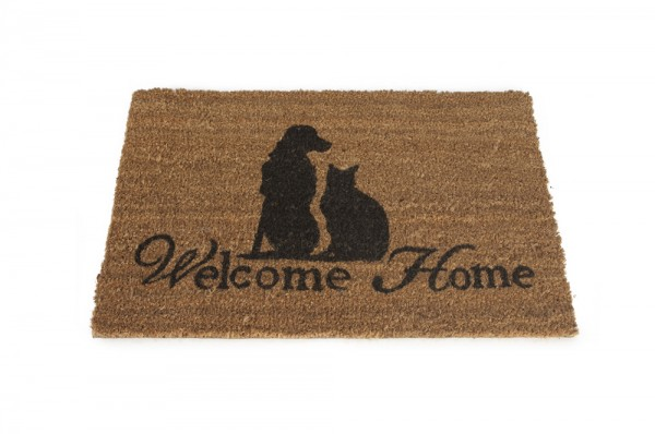 "Kokosfußmatte ""Welcome Home"" Designed by Lotte"