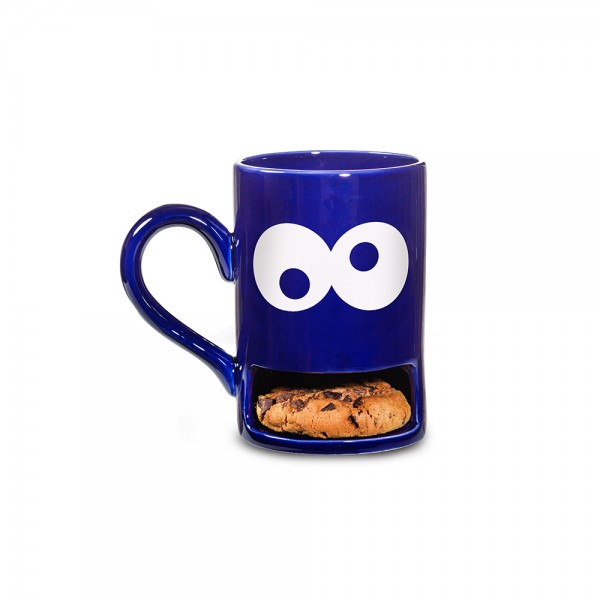 Mug Monster / Blau / Becher Keksmonster