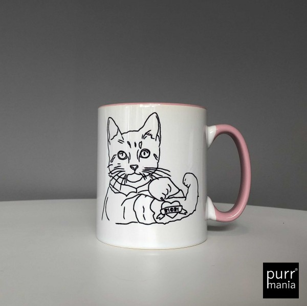 Tasse Tattookatze Mom