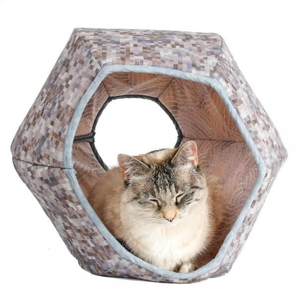 The Cat Ball Grey Blocks