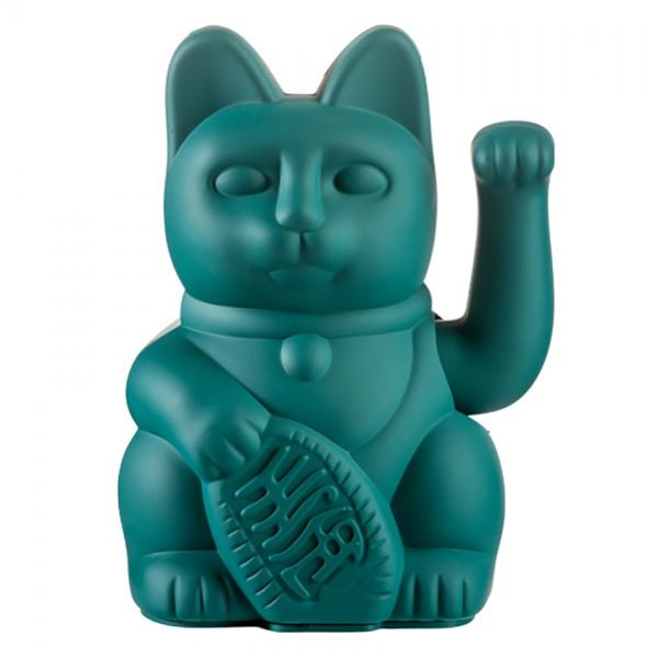 Lucky Cat - Winkekatze - grün