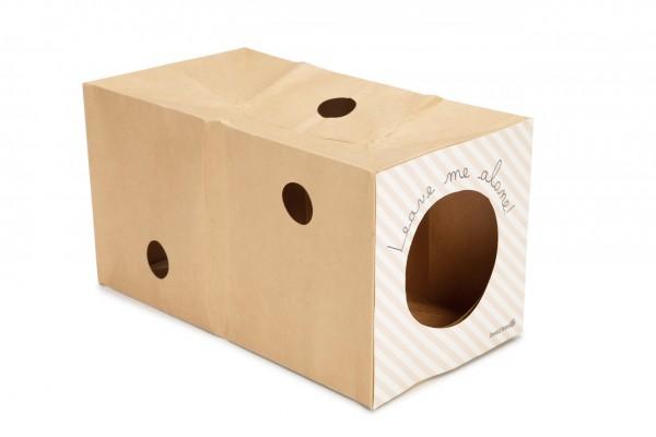 Kitten Kartonspielzeug Tunnel Inja