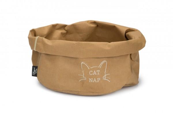 Kraftpapier Katzenkorb Cat Nap, Designed by Lotte