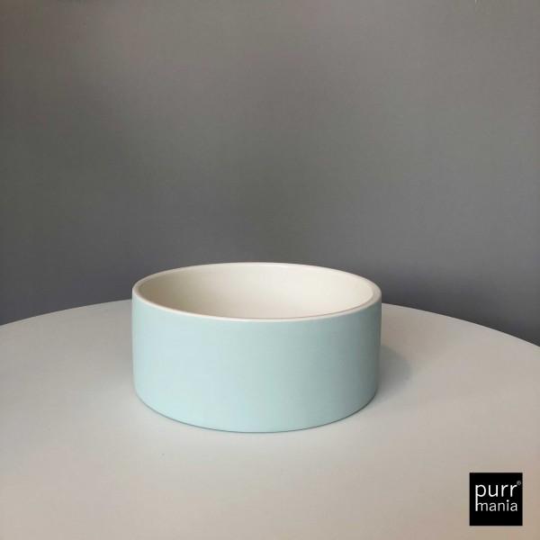 Cooling Ceramics water bowl blau L