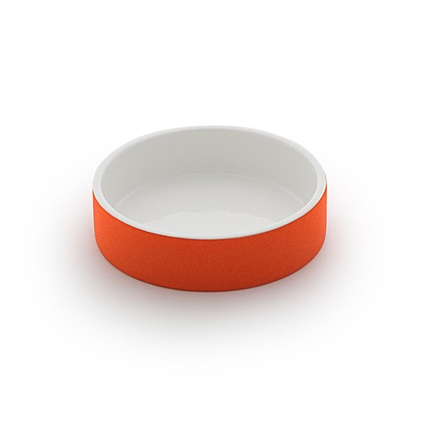 Cooling Ceramics Water Bowl tangerine S