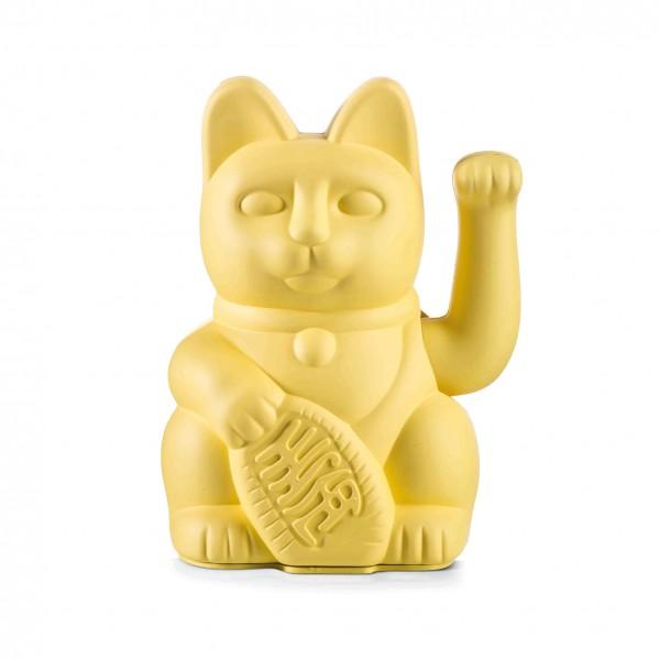 Lucky Cat - Winkekatze - gelb