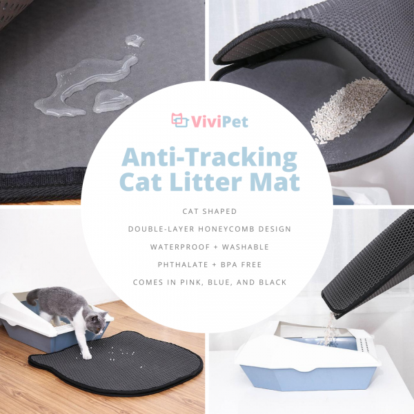 Anti-Tracking Cat Litter Mat