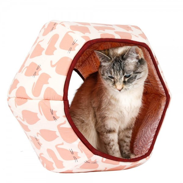The Cat Ball pink marshmallow cats