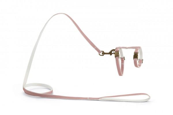 Nylon Katzengeschirr Virante - rosa