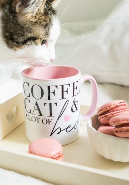 """Tasse """"Coffee, Cat & Bed"""""""