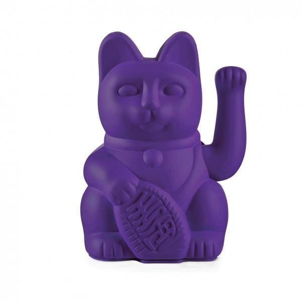 Lucky Cat - Winkekatze - violet