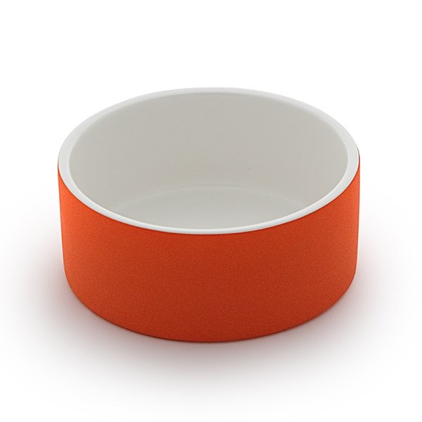 Cooling Ceramics Water Bowl tangerine M