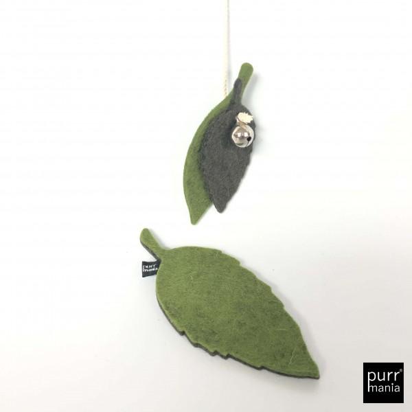 Set dancing leaves Angel + wooly leaf Catnip-Toy