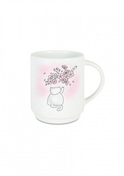 Tasse Blossom Cat